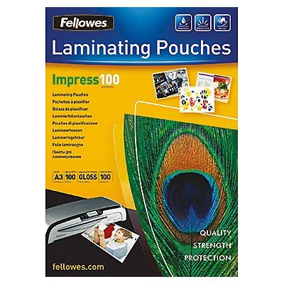 Fellowes Laminierfolie Impress 100 5351205 DIN A3 tr 100 St./Pack.