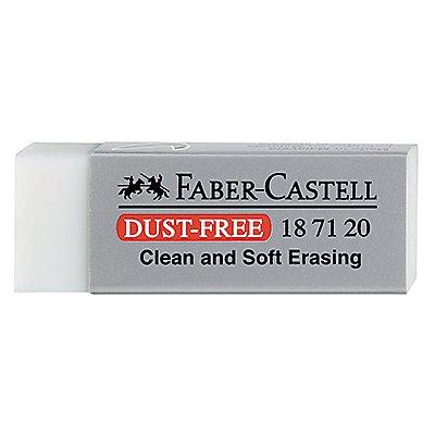 Faber-Castell Radierer DUST-FREE 187120 22x12x62mm weiß