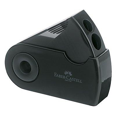 Faber-Castell Doppelspitzdose SLEEVE 182700 32x70x20mm schwarz