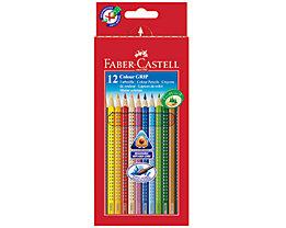 Faber-Castell Farbstift Colour GRIP 112412 farbig 12 St./Pack.