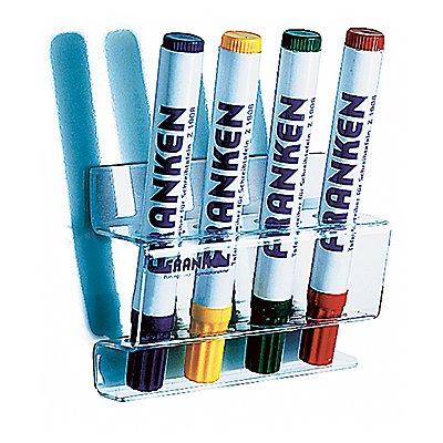 Franken Tafelschreiberhalter Z1981 magnethaftend Acryl transparent