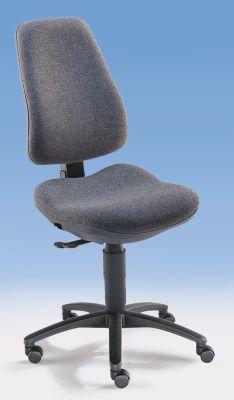 Bandscheiben-Drehstuhl - Rückenlehne 580 mm, ohne Armlehnen