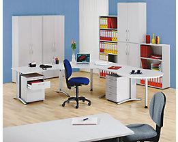 BIANCA Büroschrank - HxB 1144 x 800 mm, 3 Ordnerhöhen