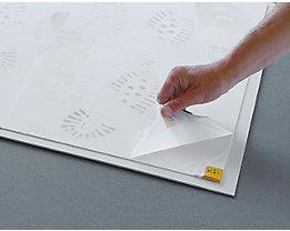 COBA Foliensatz à 60 Folien - für Reinraummatte - 600 x 800 mm, VE 2 Sätze