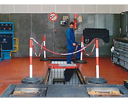 Kettenständer mit Stahlpfosten - Pfostenhöhe über Flur 1000 mm