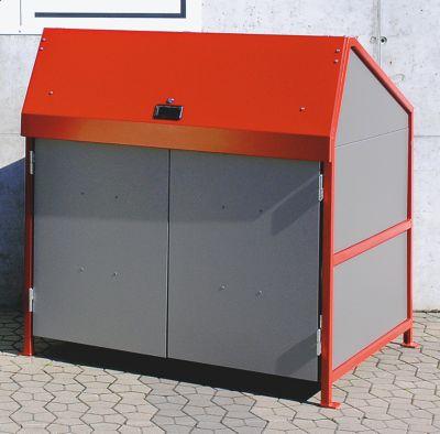 Mehrzweck-Depot - 4-seitig geschlossen, mit Türen