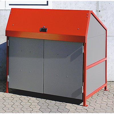 BAUER Mehrzweck-Depot - 4-seitig geschlossen, mit Türen