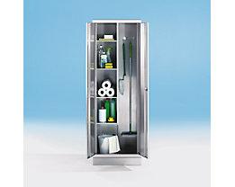 Armoire en inox - armoire pour produits ménagers
