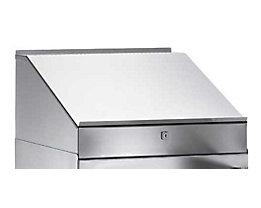Pupitre - en inox - pour armoire à outils 500 x 500 mm