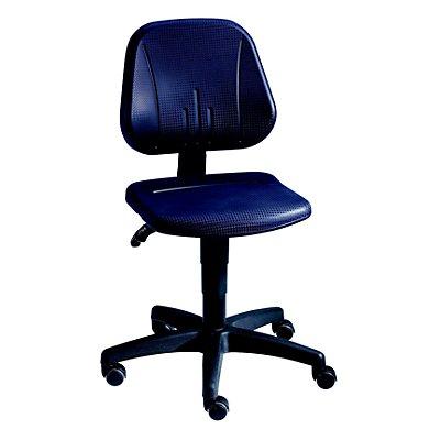 bimos Siège d'atelier universel - avec roulettes - habillage de l'assise en mousse PU