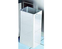 Innenbehälter für Reinraum-Abfallsammler - aus Edelstahl - für Inhalt 40 l