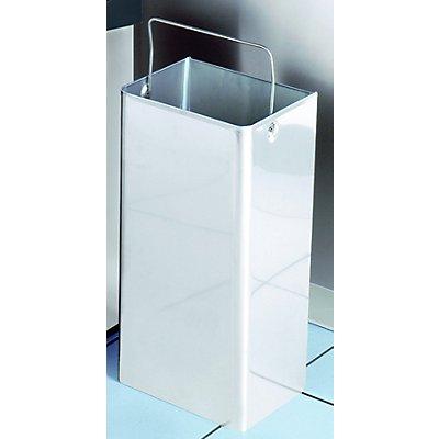 Hammerlit Innenbehälter für Reinraum-Abfallsammler - aus Edelstahl