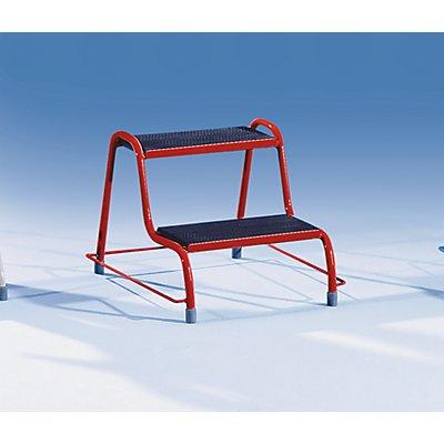 Stahlrohrtritt - ohne Haltegriff
