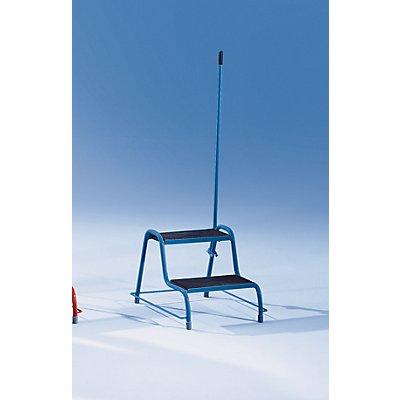 Stahlrohrtritt - mit Haltegriff