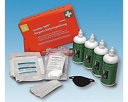Kit de premier secours - laveurs d'yeux