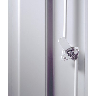 Dreipunktverriegelung - für Garderobenschrank - Mehrpreis je Abteil