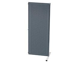 Cloisons modulaires industrielles - élément additionnel, largeur 760 mm