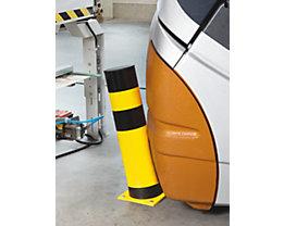 Poteaux de protection flexibles - pour l'extérieur, jaune / noir
