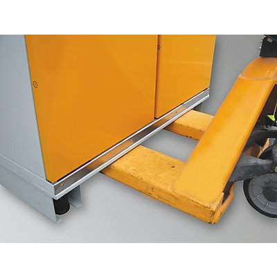 schrank unterfahrsockel f r bxt 1550 x 1025 mm f r fass schrank. Black Bedroom Furniture Sets. Home Design Ideas