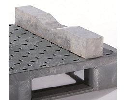 Prisme pour sécurisation de la charge - L x l x h 750 x 100 x 100 mm, lot de 2