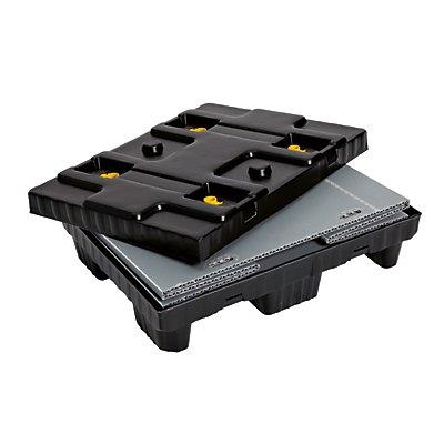 Palettenbox, faltbar - aus PP, Inhalt 215 l - ab 1 Stk