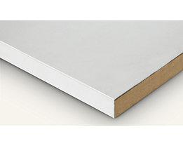EUROKRAFT Werkbankplatte - Stahlblechbelagplatte