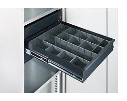 Kit de compartimentation pour tiroirs - pour armoire d'atelier - 14 éléments