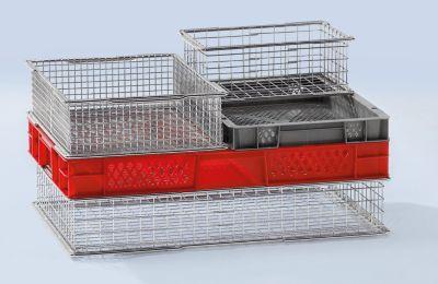 Drahtstapelbehälter - Außen-LxB 297 x 396 mm