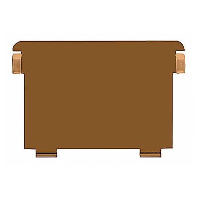 HAN Stützplatte 6 DIN A6 quer  Metall braun