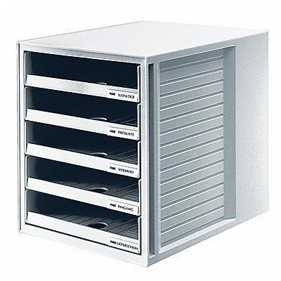 HAN Schubladenbox  DIN A4 5Schubfächer PS
