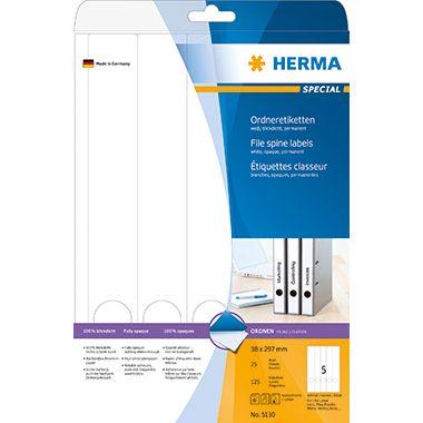 HERMA Ordneretikett 5130 lang/schmal sk ws 125 St./Pack.