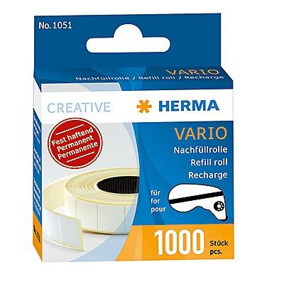 HERMA Nachfüllrolle 1051 13x12mm weiß 1.000 St./Rl.