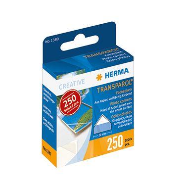 HERMA Fotoecke Transparol 1380 selbstklebend 250 St./Pack.