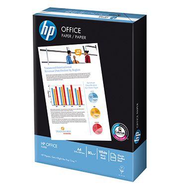 HP Kopierpapier Office CHP110 DIN A4 80g weiß 500 Bl./Pack.