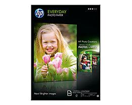 HP Fotopapier Everyday Q2510A DIN A4 200g weiß 100 Bl./Pack.