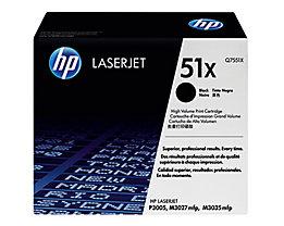 HP Toner Q7551X 51X 13.000Seiten schwarz
