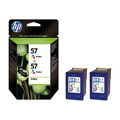 HP Tintenpatrone C9503AE Nr.57 c/m/y 2 St./Pack.