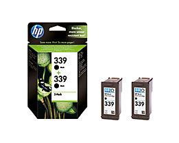 HP Tintenpatrone C9504EE Nr.339 schwarz 2 St./Pack.