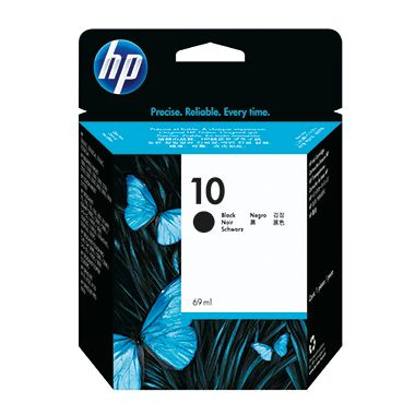 HP Tintenpatrone C4844A Nr.10 2.200Seiten 69ml schwarz