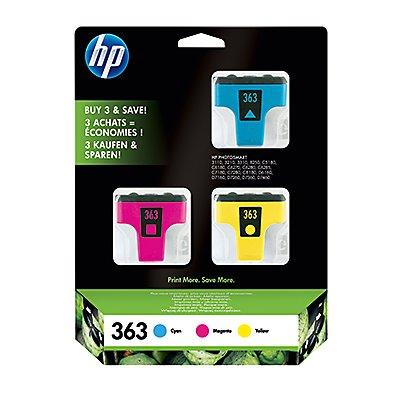 HP Tintenpatrone CB333EE Nr.363 c/m/y 3 St./Pack.