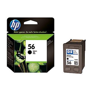 HP Tintenpatrone C6656AE#UUS Nr.56 19ml schwarz