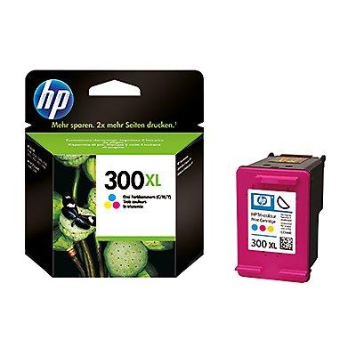 HP Tintenpatrone CC644EE#UUS Nr.300XL 11ml c/m/y