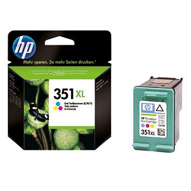 HP Tintenpatrone CB338EE#UUS Nr.351XL 580Seiten 14ml c/m/y