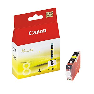 Canon Tintenpatrone CLI8Y 0623B001 13ml gelb