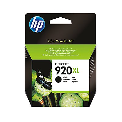HP Tintenpatrone CD975AE BGX Nr.920XL 1.200Seiten 49ml schwarz