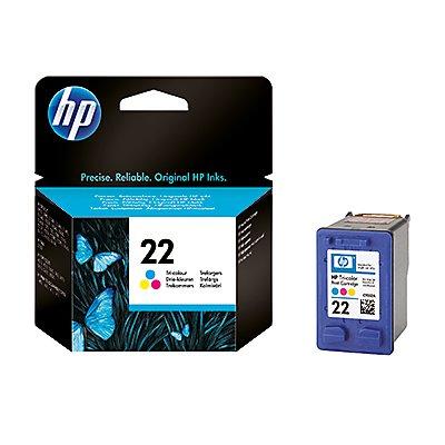 HP Tintenpatrone C9352AE#UUS Nr.22 138Seiten 5ml c/m/y