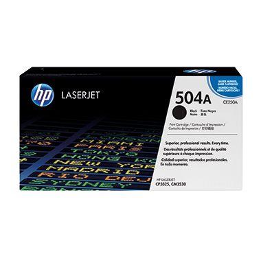 HP Toner CE250A 504A 5.000Seiten schwarz
