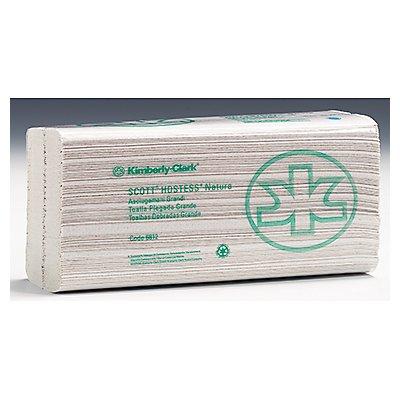 Scott Papierhandtuch Natura 6812 C-Falz 2lagig weiß 20x84 Bl./Pack.
