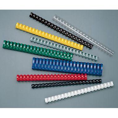GBC Plastikbinderücken DIN A4 8mm 100 St./Pack.