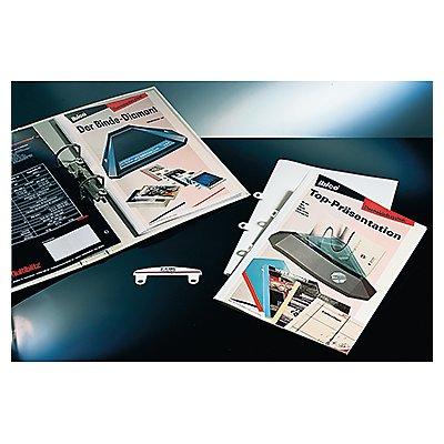 GBC Einhängeheftstreifen IB412356 PVC weiß 50 St./Pack.